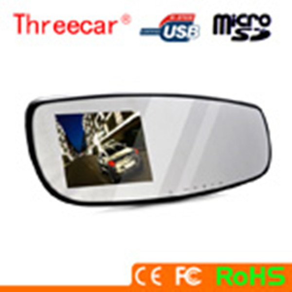 New 2.7 Inch TFT HD 1080P 30FPS Rear View Mirror Support Webcam 1080P Vehicle Car Camera DVR Video Recorder