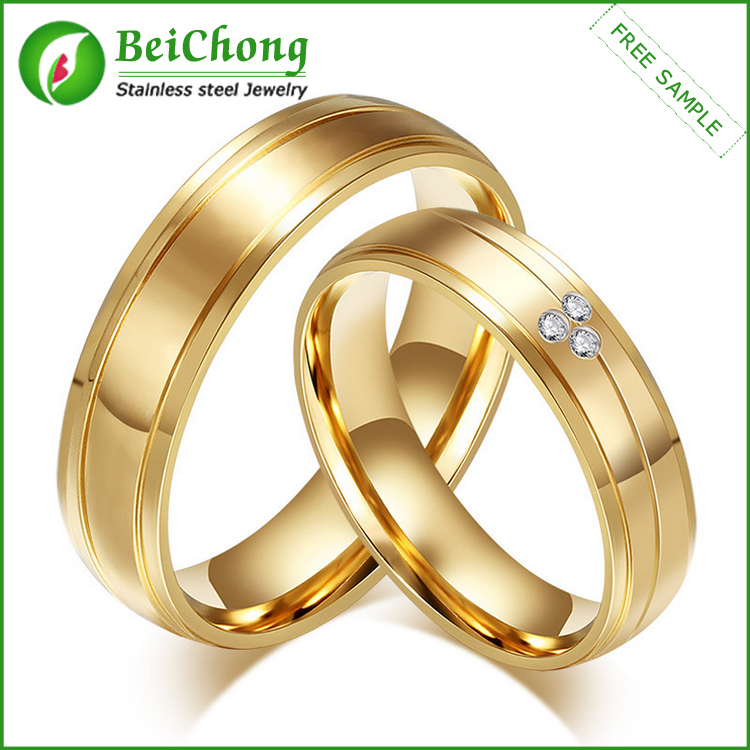 2016 New Products Couple Gold Jewelry Latest Gold Finger
