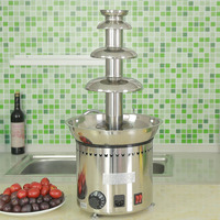 Party hit Professional chocolate fountain ideas Never Leak Chocolate