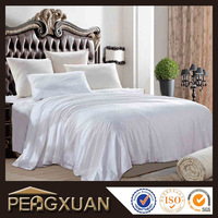 Soft Feel, Classic White, Cheap Modal Cotton Hotel Bedding Set/ Duvet cover/ Flat Sheet/ Pillow Cover with High Quality