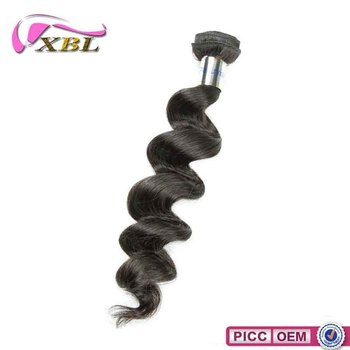 100% unprocessed virgin 100 human hair wholesale for Peruvian remy hair