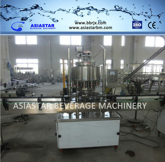 Automatic rotary capping machine for pet bottle/water bottle