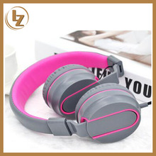 New Private Headband Style 32 ohms Aviation Headset with 40mm Speaker