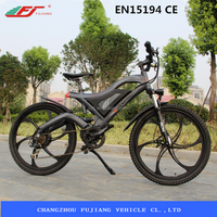 FJTDE05 full suspension electric mountain bike kit hot sell CE EN15194