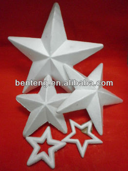 best-selling foam white window star decoration