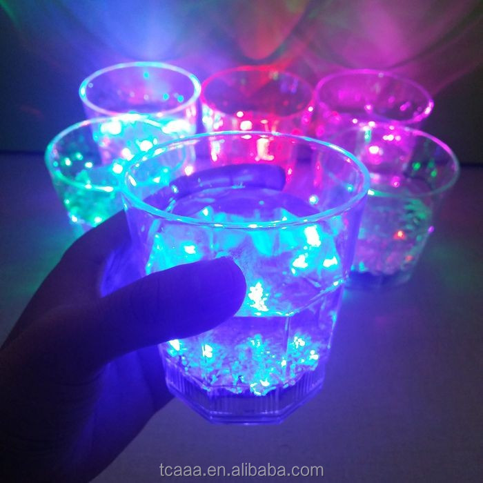 Big seller popular customized colorful CE ROHS led light wine cup