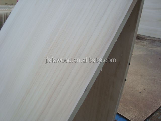 Paulownia finger-jointed plate low price and good quality