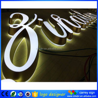 From China mini acrylic 3d electronic sign board/letters alphabet decorative