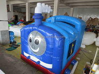 2014 factory supply thomas the train inflatable bounce house