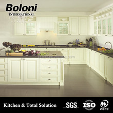 classic modular kitchen cabinets solid Wood made in China