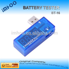 Portable USB voltage tester BT-16 car batteries charging