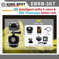 KING BEST Sport Helmet Action Camera Diving Sport 360 and 220 wide and Rotary Pan Head time lapse camera for action sport