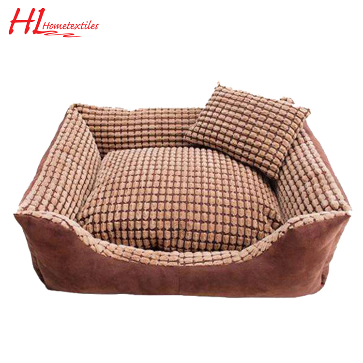 Soft square warm approved pet dog cushion,luxury square pet bed,dog bed luxury