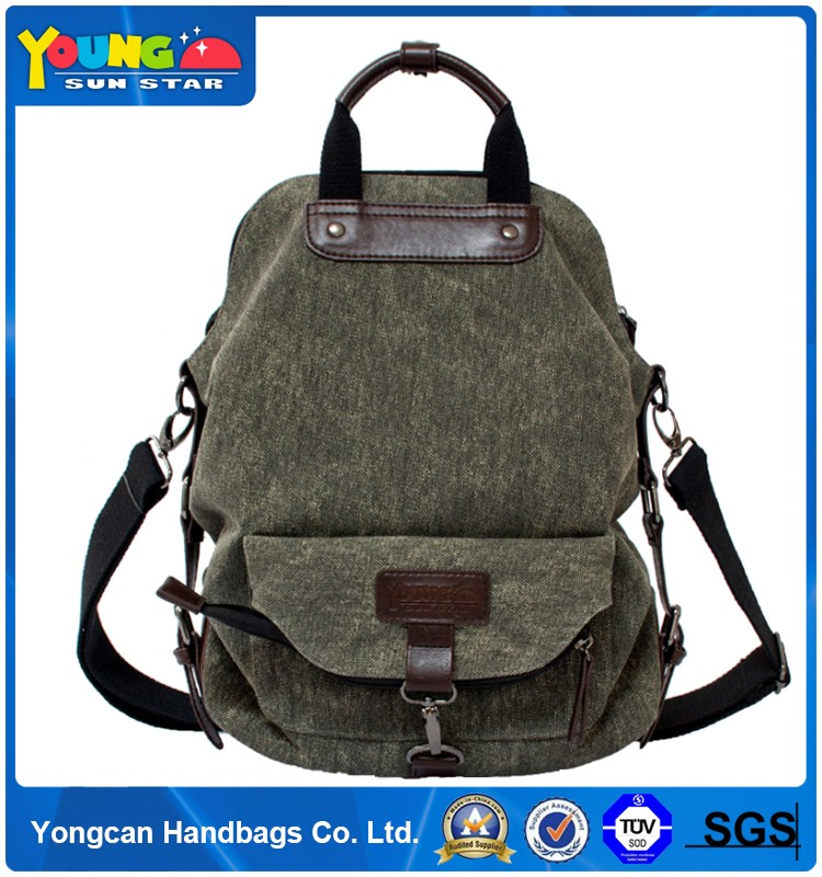 2016 hot sell outdoor custom backpack military rucksacks, army canvas school bag backpack