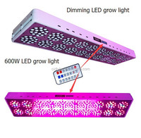 2015 best Intelligent smart LED grow light panel 600W full spectrum changeable emitting color for indoor garden greenhouse