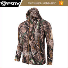 New camo Men's Outdoor Hunting Waterproof Jackets Hoodie