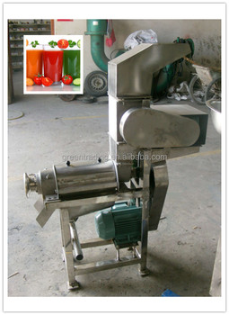 Electric power tomato pulp making machines