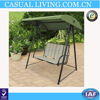NEW Outdoor Furniture Patio 2 Person Stripe Sling Swing Canopy Yard Deck Chairs