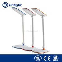 Aluminium LED desk lamp with 5-level Touch Dimmable rechargeable Reading Table Lamp LED
