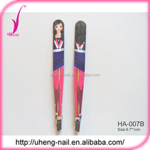 Chinese products wholesale mini tools with eyebrow tweezers