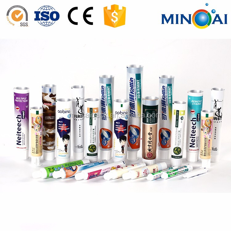 Cheap Hot Selling CustomPlastic Empty Toothpaste tube