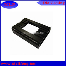 Anodized black zink die casting high precision machinery products