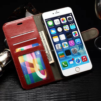 Wallet Smartphone Case Flip Leather Cover Phone Case for Apple iPhone 6s with Card Holder