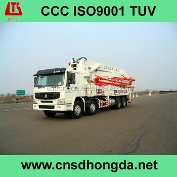 Excellent Performance! HDT5401THB-48/5 HONGDA Concrete Pump Truck for Sale