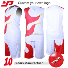 Top Class Charming Custom reversible Sublimated Basketball Uniform Set