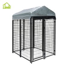Welded Metal Wire outdoor Dog Kennel house dog cage run kennels