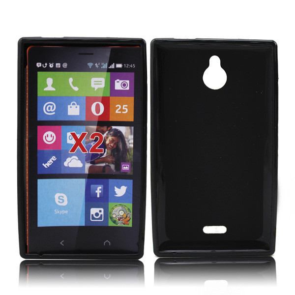 2014 newest tpu case for nokia x2 back cover