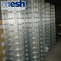 Galvanized coated fish pots welded wire mesh (1Inchx2Inch)