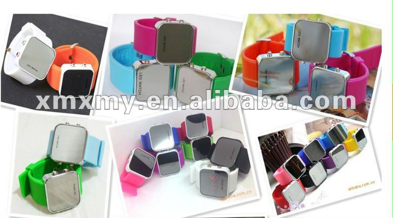 Sports Digital LED Sports Silicone Watch