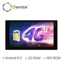 Ownice C500 Android 6.0 system car DVD audio for 2din NISSAN universal Built 4G with GPS Support DVR digital TV