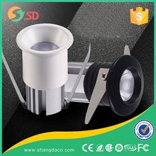 High quality 1 watt recessed led mini downlight