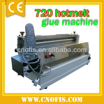 Hotmelt glue machine/720 glue coating machine/stick paper machine