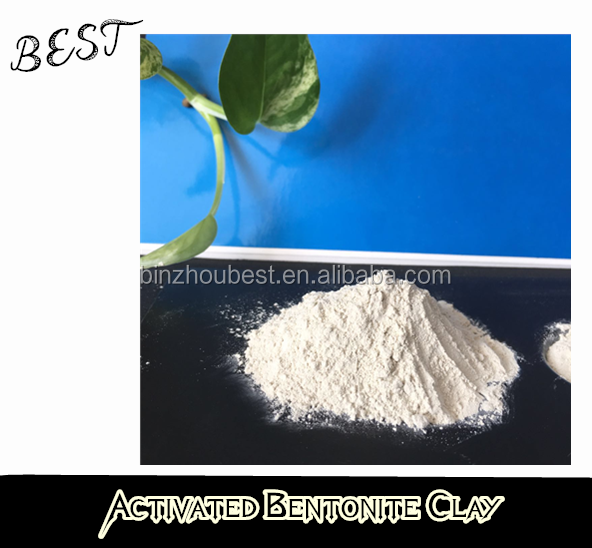 acid Activated Bentonite Earth clay for biodiesel oil recycling