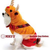 Christmas Top quality Wholesale Christmas Reindeer Costume, Pet Costume Cosplay for dog clothes