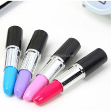 TK-13 Cute Kawaii Korea Novelty Lipstick style Ballpoint Pens Lovely Ball Pen, promotional lipstick pen