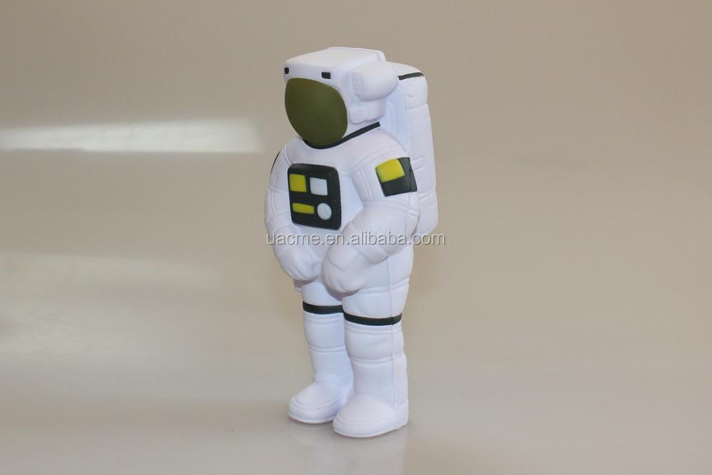 PU Stress Ball Spaceman Shaped / Anti Stress Ball in Spaceman Shape / Spaceman Shaped Stress Toy