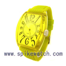 Best gift print your logo colorful western watch price