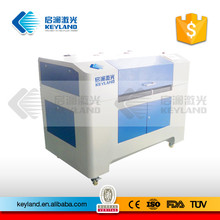 China KEYLAND Fabric Label Patch Laser Cutting Machine with CCD Camera