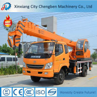 95kw Engine Power Hydraulic Small Crane Used in uae