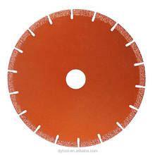 Stone cutting tools brazed diamond saw blade for Marble limestone