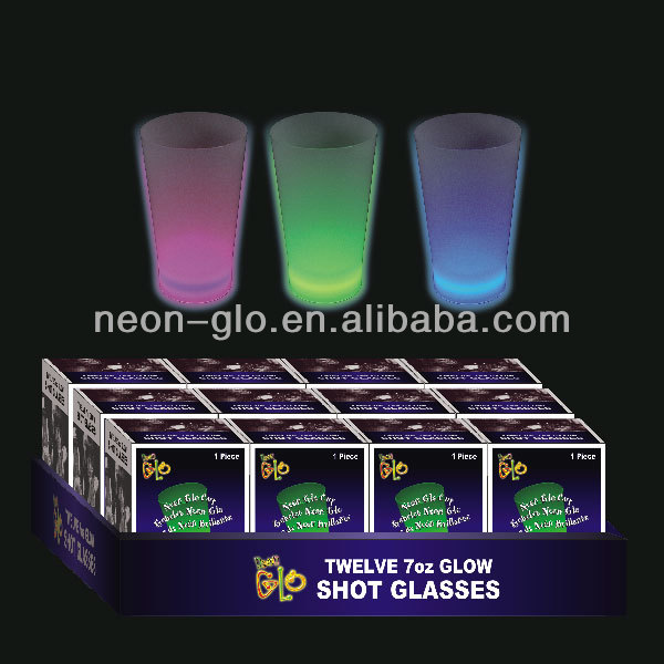 7oz glow cup for party drinking