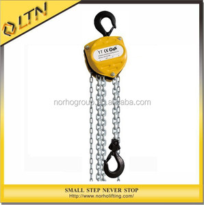 0.5-50t Manual chain pulley block