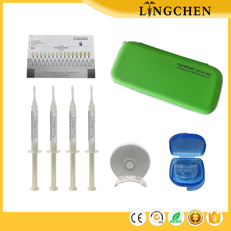 Higher quality instant hydrogen peroxide 16% home teeth whitening kit