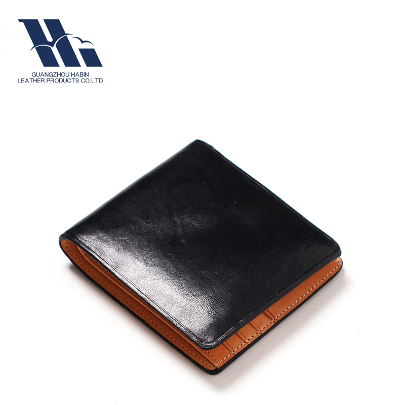 Oversea Sell PU RFID Protection Leather Men's Wallet