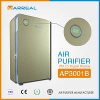 2015 Latest odor eliminating air purifier to remove smoke with clean air