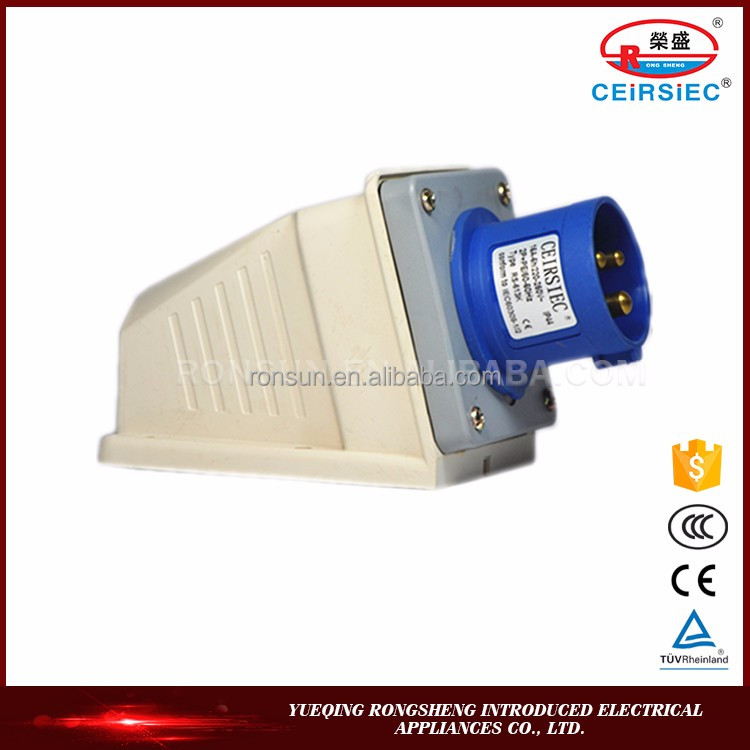 Manufacturer Competitive price supply industrial plug socket 023l-4 voltage 110v
